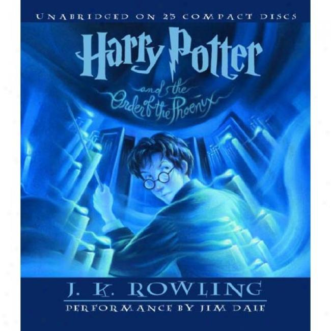 Harry Potter And The Order Of The Phoenix By J. K. Rowling, Isbn 0807220299