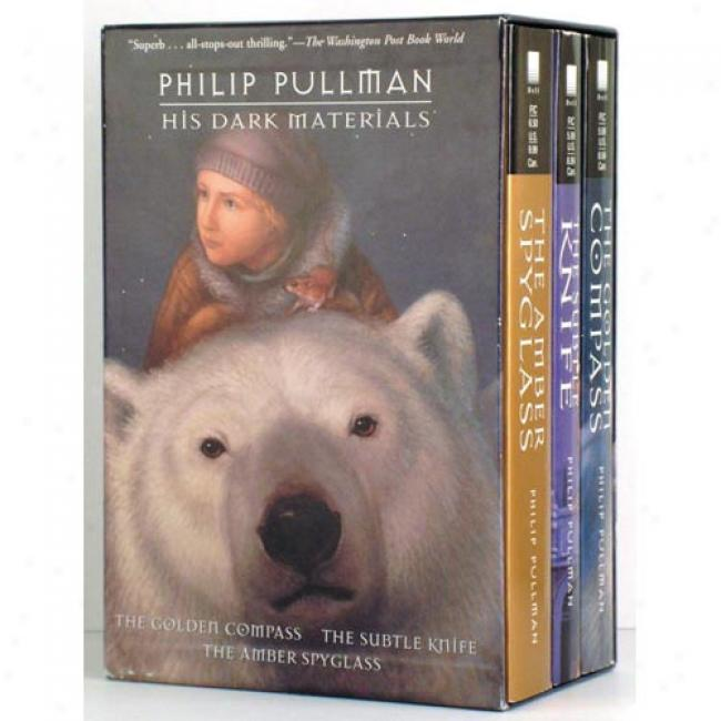 His Dark Material Yearling 3c Box Set Bu Philip Pullman, Isbn 0440419514