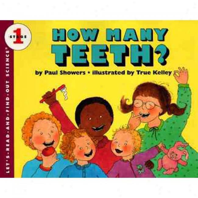 How Many Teeth? By Paul Showers, Isbn 0064450988