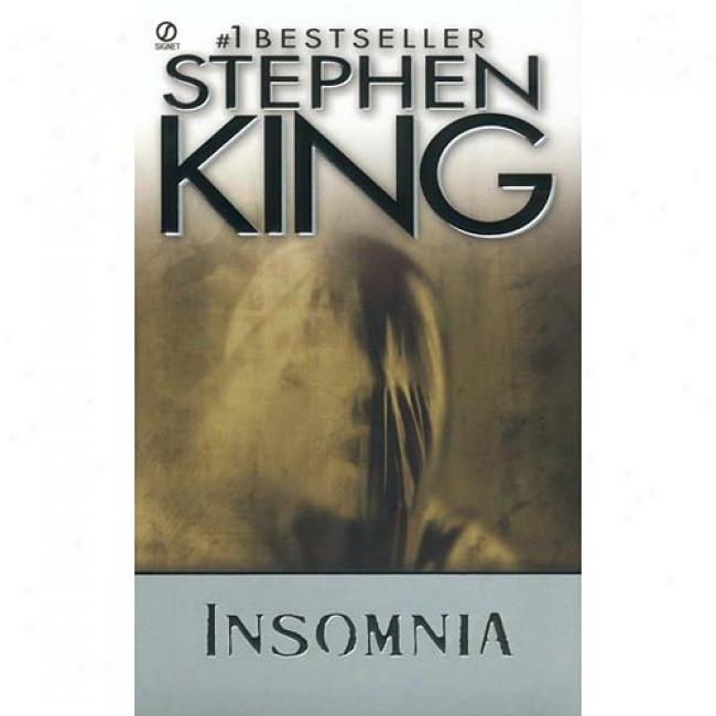 Insomnia By Stephen King, Isbn 0451184963
