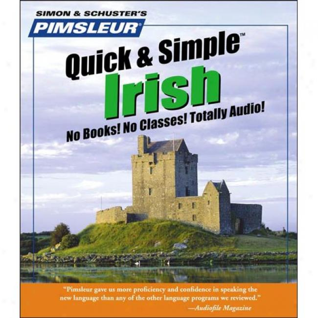Irish By Pimsleur Language Peograms, Isbj 0743500156