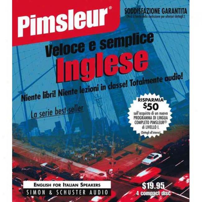 Italian I By Pimsleur Language Programs, Isbn 0671776401