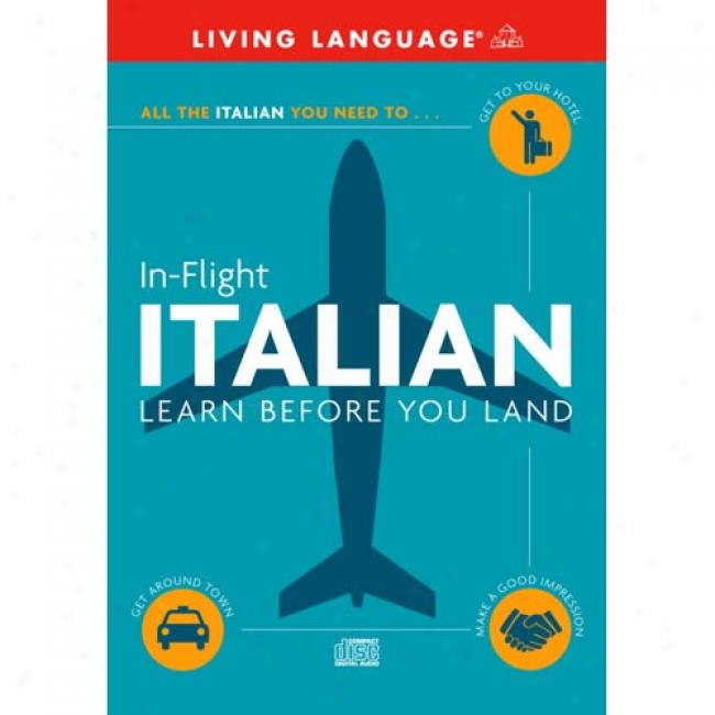 Italian: Learn Before You Land By Suzanne E. Mcgrew, Isbn 0609810715