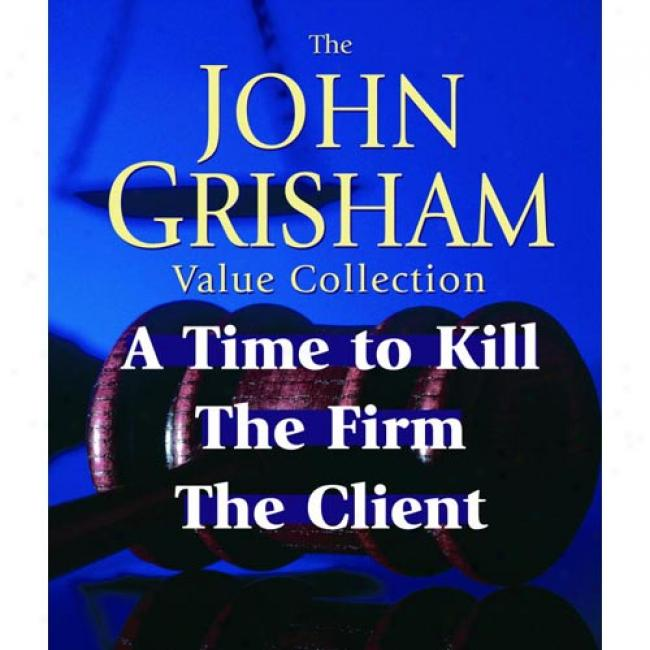 John Grisham Value Assemblage: A Time To Kill, The Firm, The Client