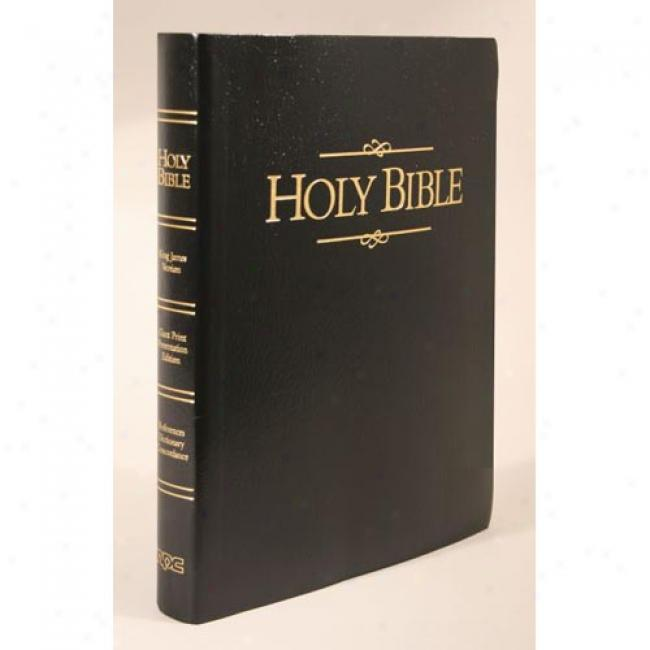 Keystone Giant Print Bible By Henry T. Blackaby, Isbn 0834003503
