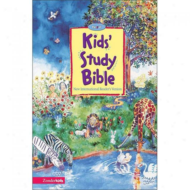 Kid's Study Bible By Zondervan Bible Publishers, Isbn 031070801x