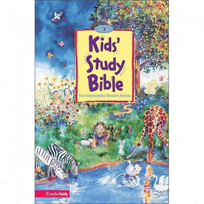 Kid'd Study Bible By Zondervan Bible Publishers, Isbn 0310708028