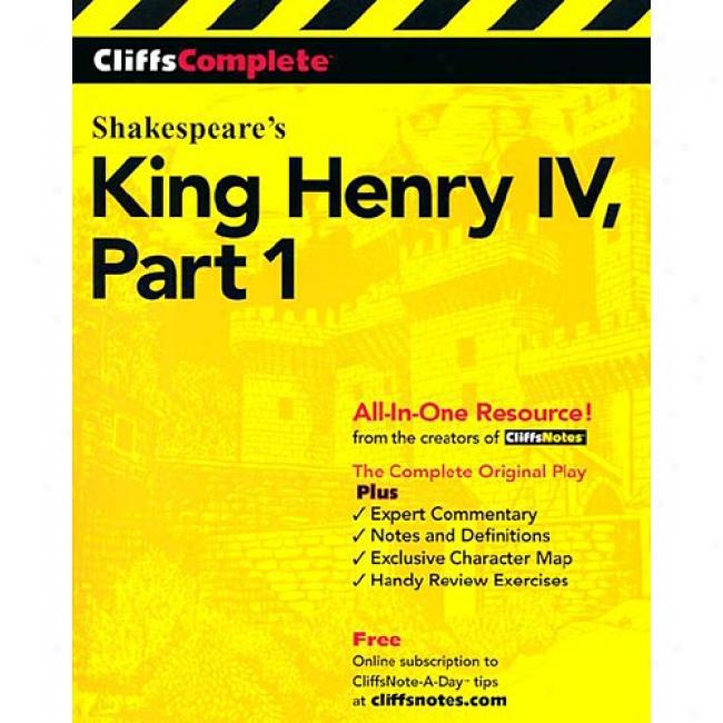King Henry Ib, Part I By Michael Mcmahon,I sbn 0764585703