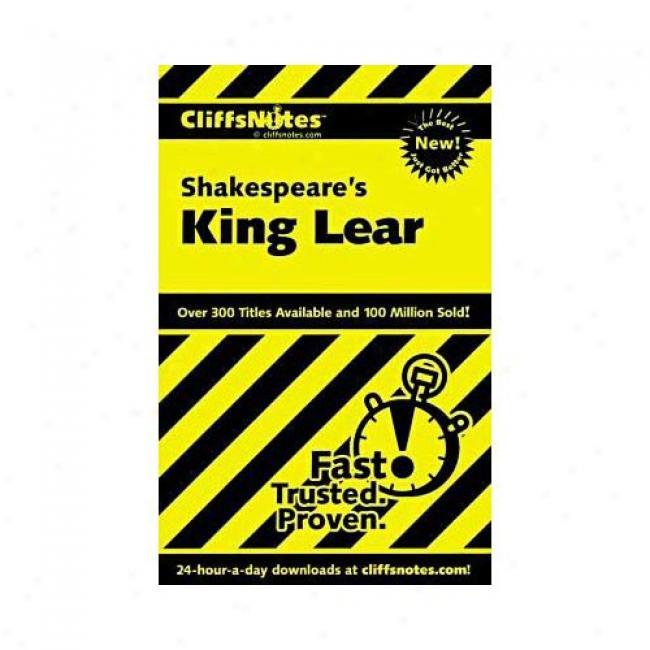 King Lear Along Sheri Metzger, Isbn 0764585827