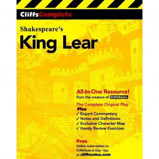 King Lear By Stacy Muldder, Isbn 0764585711
