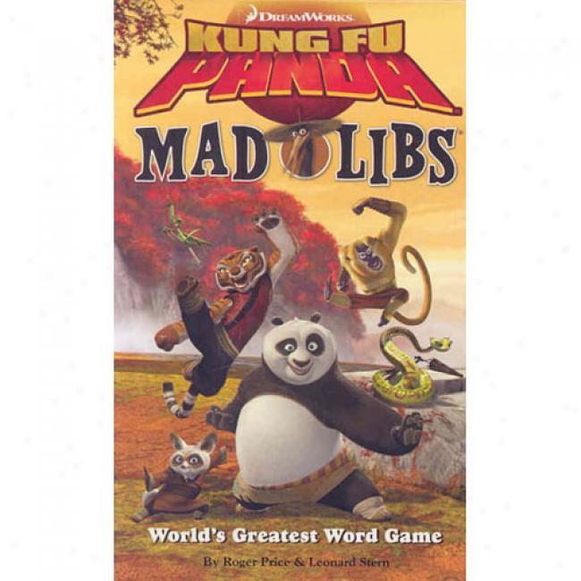 Kung F Panda Mad Libs