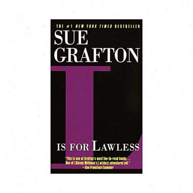 L Is For Lawless By Suw Grafton, Isbn 0449221490