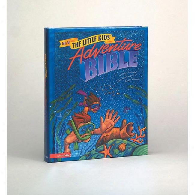 Little Kids Adventure Bible By Zondervan Bible Publishers, Isbn 0310921422