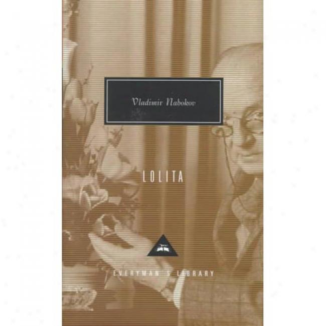 Lolita By Vladimir Nabokov, Isbn 0679410430