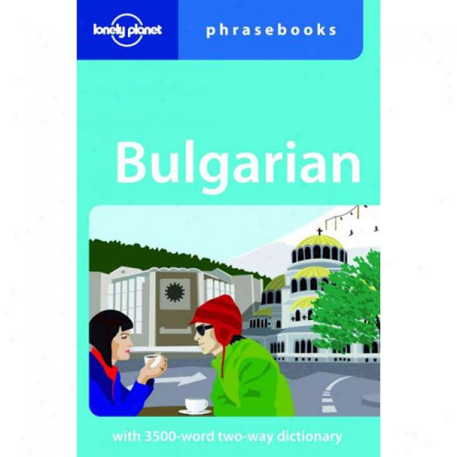 Lonely Planet Bulgarian Phrasebook