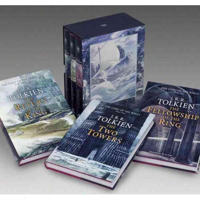 Lord Of The Rings: Illustrated 3-vol Box By J. R. R. Tolkien, Isbn 0618260587