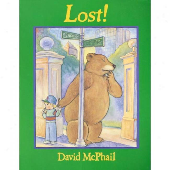 Lost! By David M. Mcphail, Isbn 0316563366
