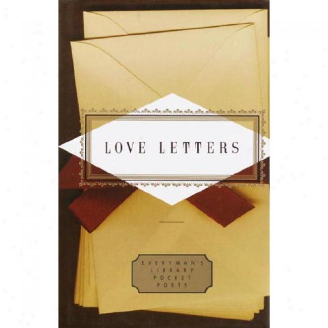 Love Letters By Peter Washington, Isbn 0679446893