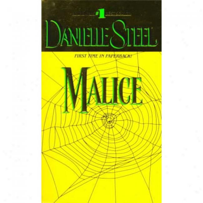 Malice By Danielle Steel, Isbn 0440223237
