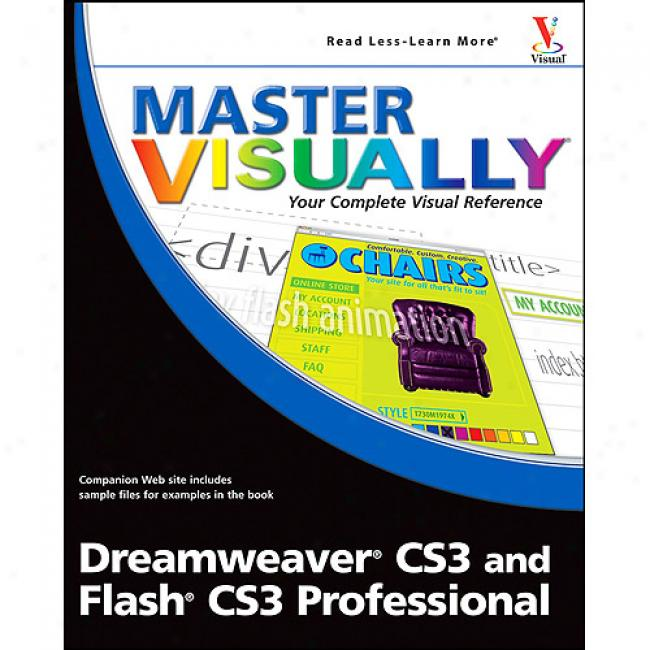 Acquire Visually Dreamweaver Cs3 And Slang Cs3 Professional