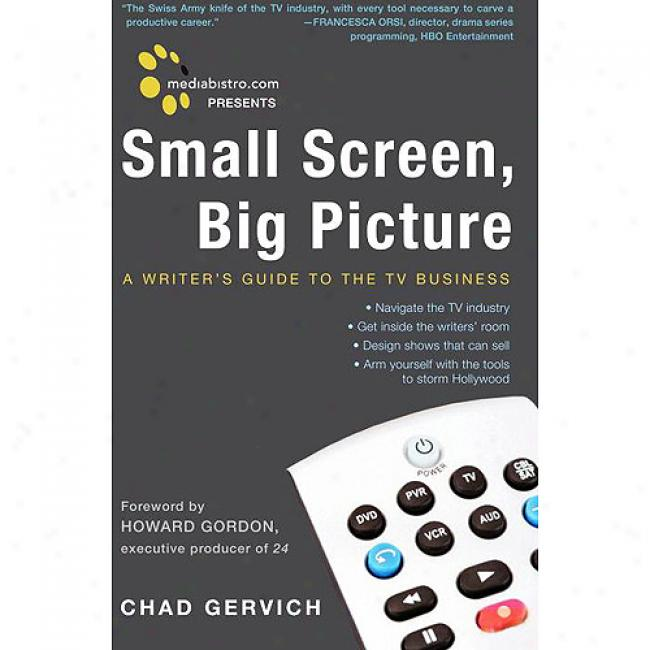 Mediabistro.com Presents Small Scre3n, Big Picture: A Writer's Guide To The Tv Business