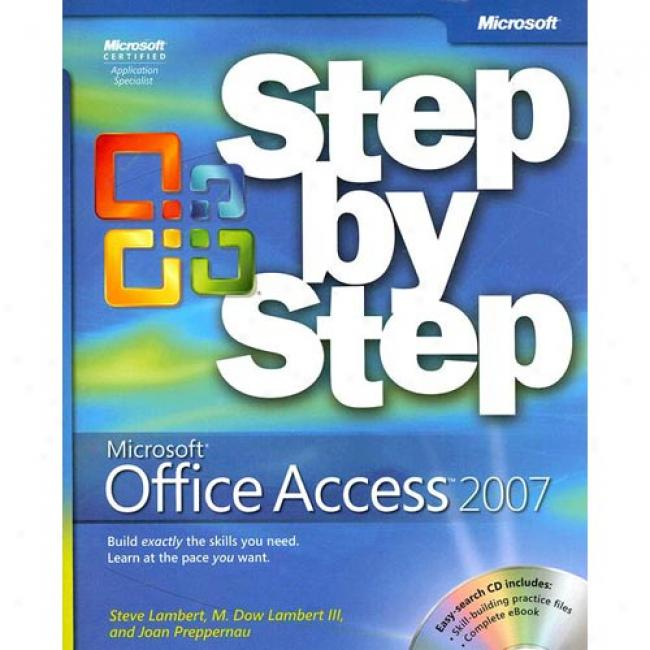 Microspft Office Access 2007 Step From Step [with Cdrom]