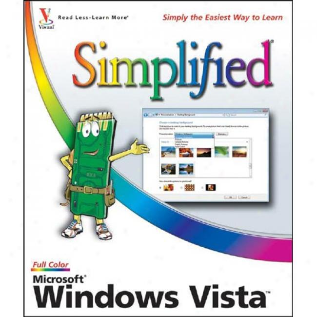 Microsoft Windoes Vista Simplified