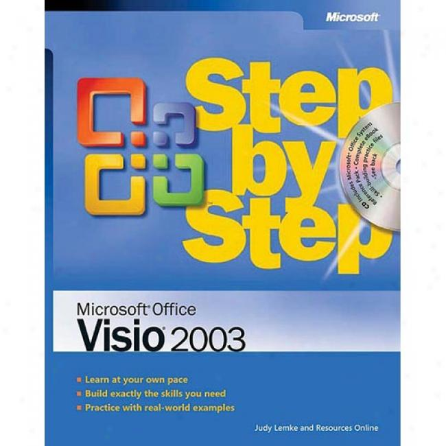 Microsoft(r) Office Visio(r) 2003 Step By Step [with Cd-rom]