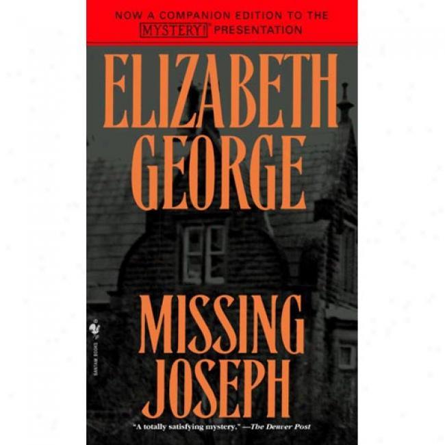 Lost Joseph By Elizabeth George, Isbn 0553566040