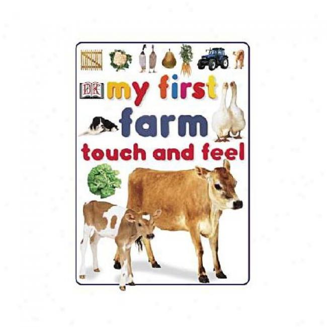 My First Farm Touch And Feel By Dorlinv Kindersley Publishing, Ishn 0789485249