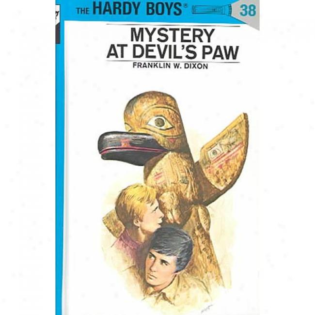 Mystery At Devil's Paw By Franklin W. Dixon, Isbn 0448089386