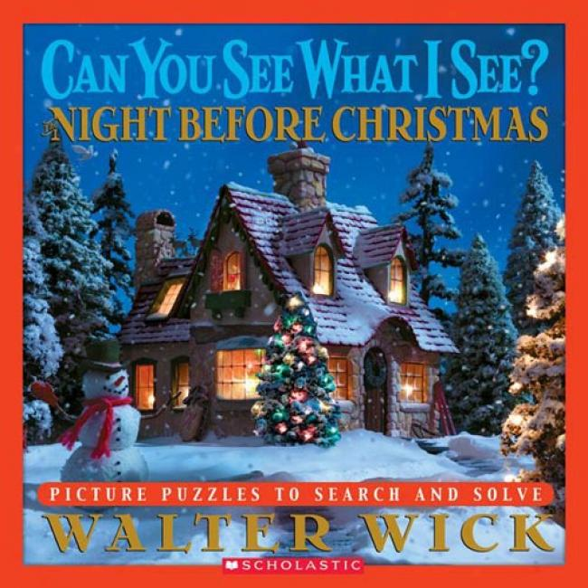 Night Before Christmas: Picture Puzzles To Search And Solve