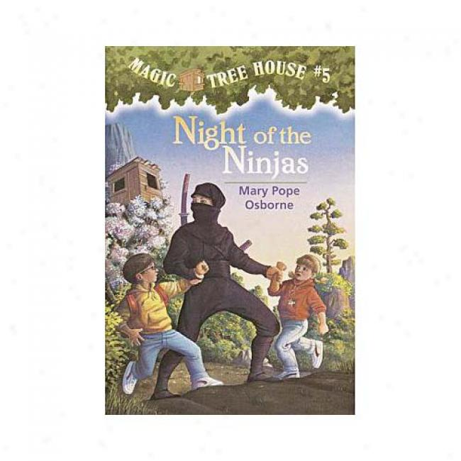 Night Of The Ninjas By Mary Pontiff Osborne, Isbn 0679863710