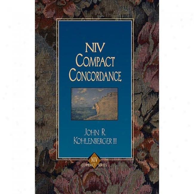 Niv Compact Concordanef By Zondervan Bible Publishers, Isbn 0310228727