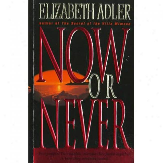 Now Or Never By Elizabeth Adler, Isbn 0440224640