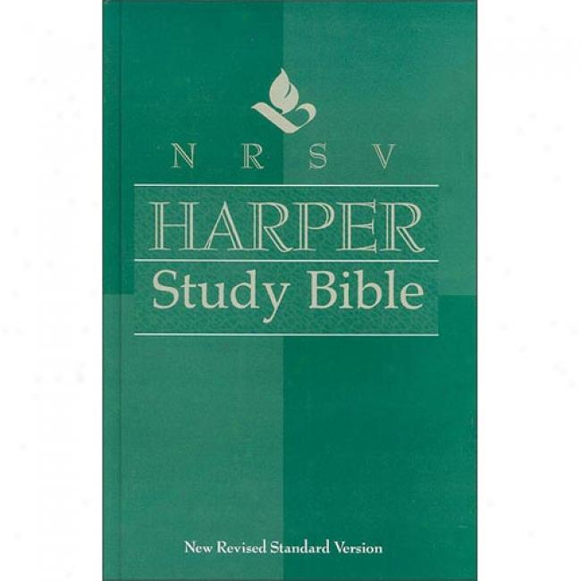 Nrsv Harper Study Bible By Harold Lindsell, Isbn 0310902037
