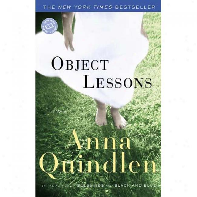 ObjectL essons By Annq Quindlen, Isbn 0449001016