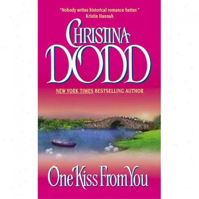 One Caress with the lips From You By Christina Dodd, Isbn 0060092661