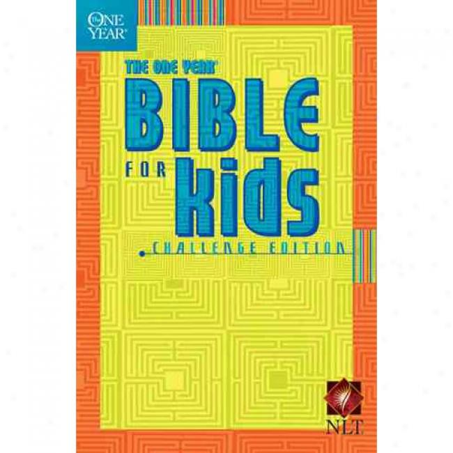 Obe Year Bible For Kids-nlt