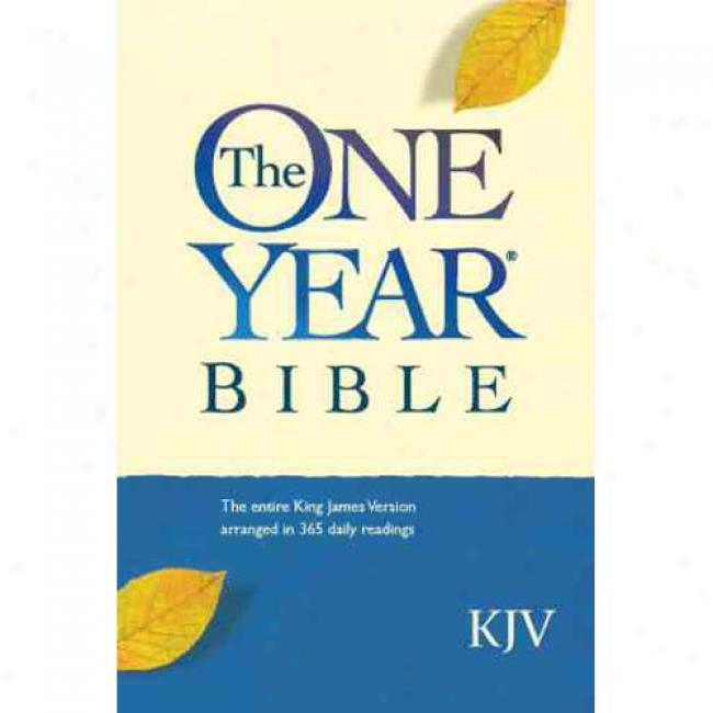 One Year Bible-kjv-compact