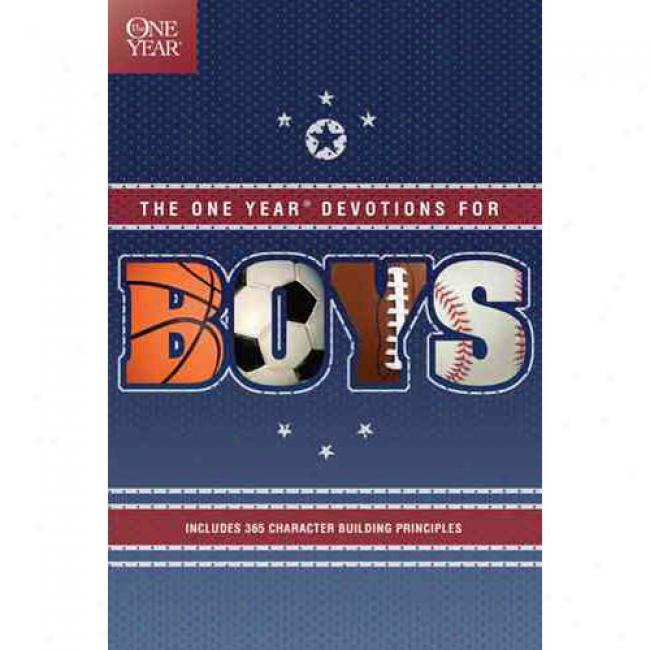 One Year Book Of Devotions For Boys By Debbie Bible, Isbn 0842336206