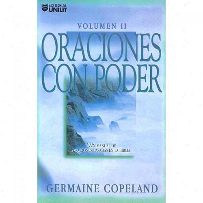 Oraciones Con Ponder By Germaine Copeland, Isbn 0789906910