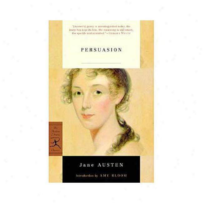 Persusaiom By Jane Austen, Isbn 0375757295