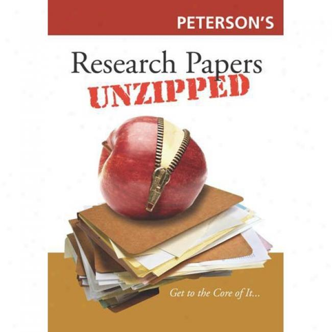 Peterson's Research Papers Unzipped