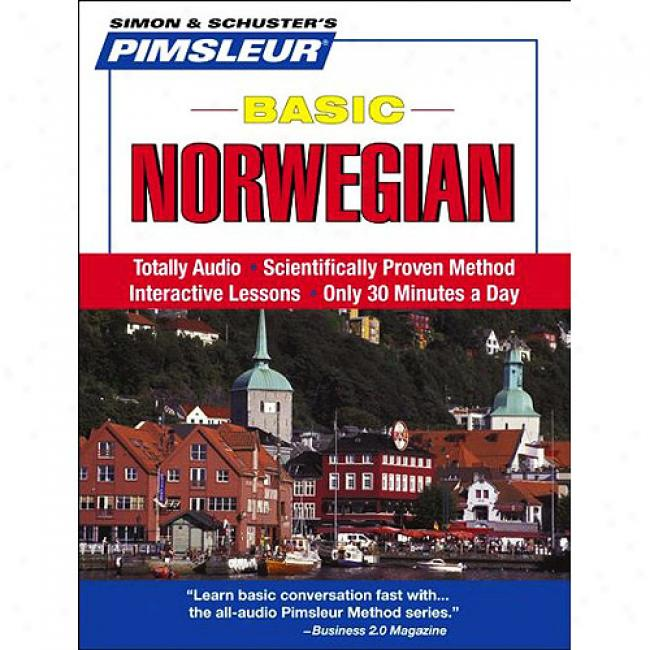Pimsleur Basic Norwegian [witu Free Cd Case]