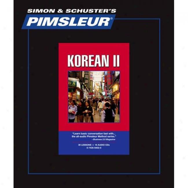 Pimsleur Korean Ii
