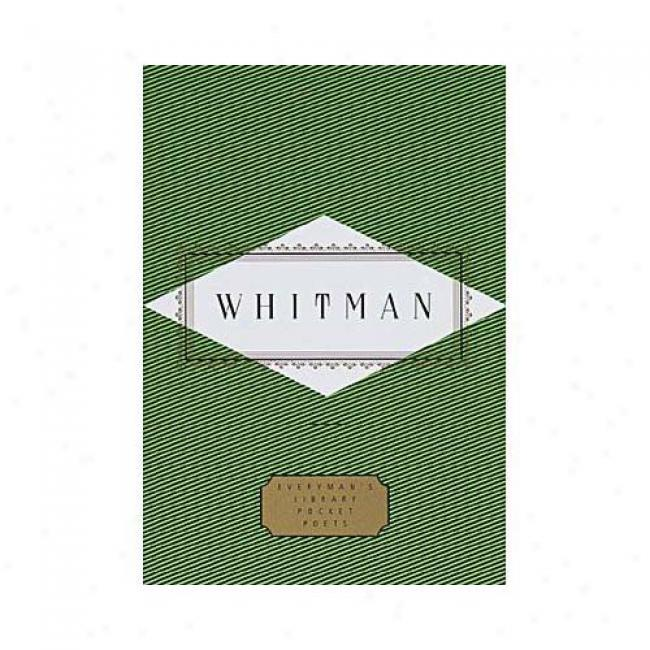 Poems By Walt Whitman, Isbn 0679436324