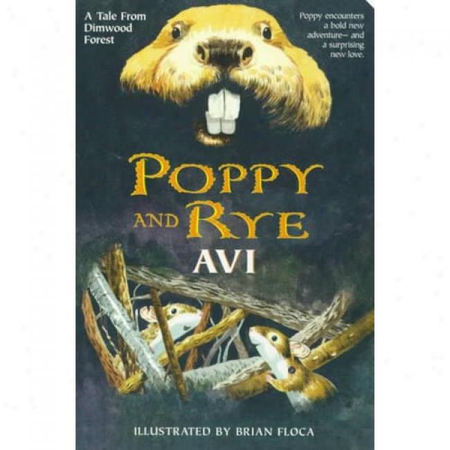Poppy And Rye By Avi, Isbn 0380797178