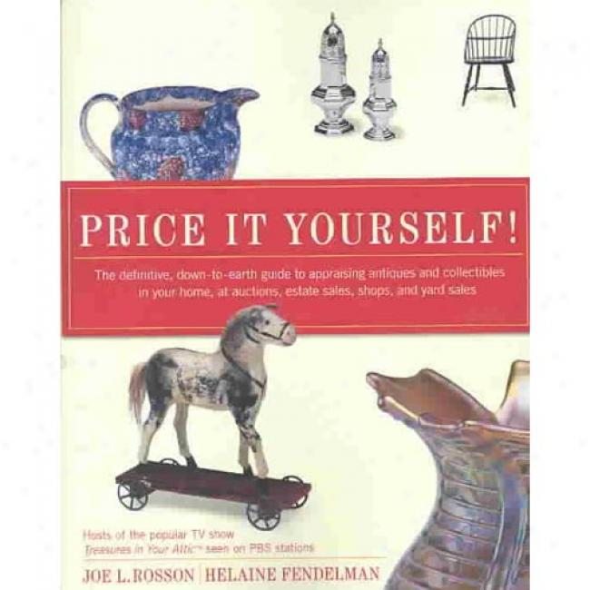 Price It Yourself! By Joe Rosson, Isbn 0060096845