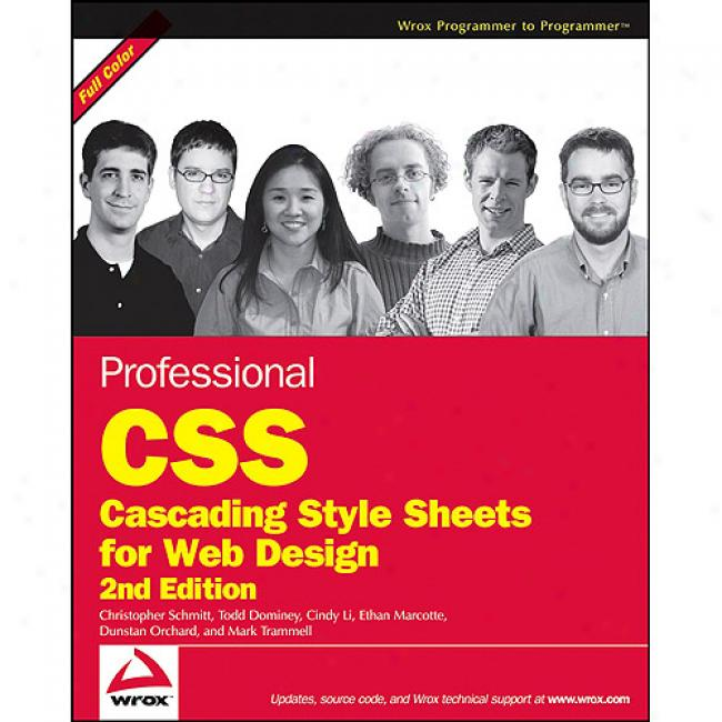 Professional Css: Cascading Style Sheets For Web Design